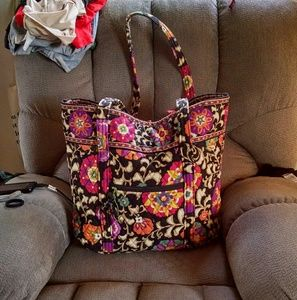Vera Bradley Mod iconic floral Large tote
